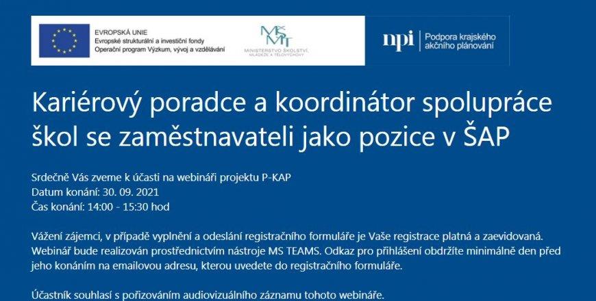Národní pedagogický institut pořádá zajímavý webinář s dobrou praxí